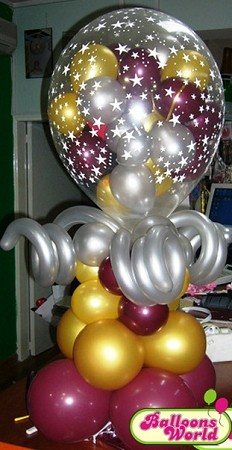 Stuffed balloon party